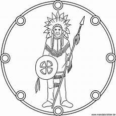 Malvorlagen Indianer Ring Ausmalbilder Indianer Mandala Mandalas Indianer Und