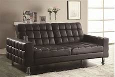 coaster sofa beds and futons adjustable sofa bed with cup