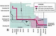 Light Rail Map Phoenix Tempe Phoenix Light Rail Opens Ridership Soars Light Rail Now