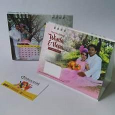undangan kalender murah di surabaya undangan pernikahan kalender meja duduk percetakan murah