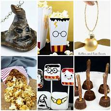 harry potter food and crafts for nights or