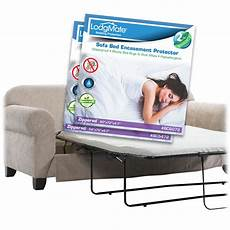 lodgmate terry cloth zippered sofa bed encasement