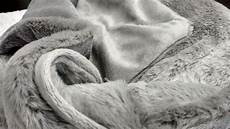tache gray plush rabbit faux fur throw blanket rabbit