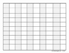 Blank Grid Template Blank Hundreds Chart White Gold