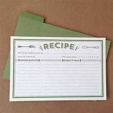 Recipe Cards Printable Classic Recipe Cards Printable By Basic Invite