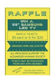 Raffle Wording 120 Customizable Design Templates For Raffle Postermywall