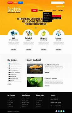 Php Site Template Internet Website Template 36204