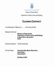 Commercial Cleaning Contract Sample Cleaning Contracts Template Emmamcintyrephotography Com