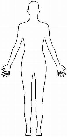 Outline Of A Female Body Template Female Outline Alex Heal Flickr