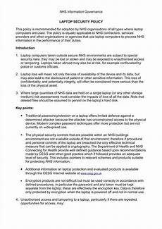 Business Policy Example 9 Business Policy Templates Free Word Pdf Format