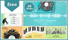 Musical Powerpoints Creative Music Concept Powerpoint Templates For Free