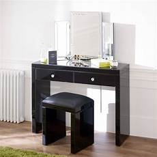 product of the week mirrored black glass dressing table