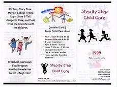 Child Care Center Brochures Arts Arts
