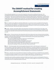 Accomplishment Based Resume Provided By Optimalresume Com The Smart Method For