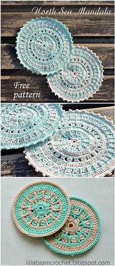 60 free crochet mandala patterns diy crafts