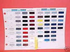 Masterseal Tc 225 Color Chart 1991 Toyota Paint Chips Color Chart Guide Brochure 91 Ebay