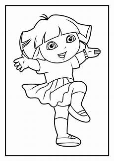 Dora Coloring Pages Dora Coloring Pages Diego Coloring Pages