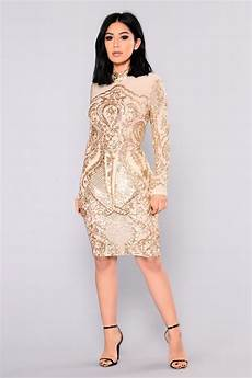 Light Gold Sequin Dress Calcy Sequin Mesh Dress Gold