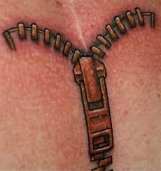 Zip Zipper Designs 54 Unique Zipper Tattoos Collection
