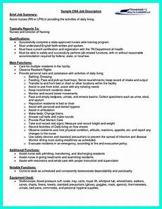 Resume For Cna Sample Quot Mention Great And Convincing Skills Quot Said Cna Resume Sample