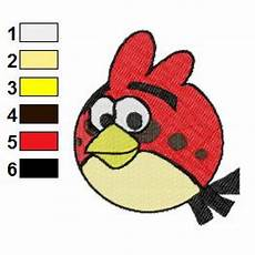 Angry Bird Designs Angry Birds Space Embroidery Design 14