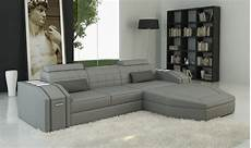 Gray Sectional Sofa 3d Image by Divani Casa 5038b Modern Grey Bonded Leather Sectional Sofa
