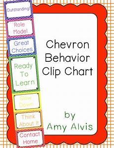 Chevron Behavior Clip Chart Behavior Clip Chart Behavior Management Chevron