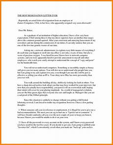 Best Letters Of Resignation 6 Best Letter Of Resignation Ever Resignition Letter