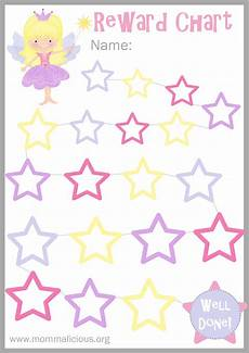 Sticker Reward Charts For Toddlers Reward Charts Are A Great Way To Encourage Good Behavior