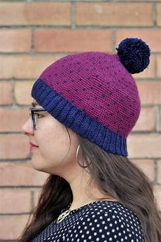 diy crochet knit stitch beanie with ribbing and free