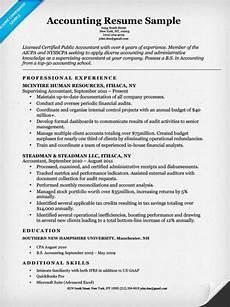 Accountant Resume Sample Accounting Cpa Resume Sample Resume Companion