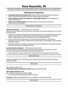structural engineer resume sample sample resume for a midlevel mechanical engineer monster com