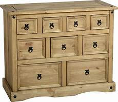 chest of drawers pine corona bedroom furniture solid wood