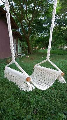 macrame swing macrame swing it is a comfortable and swing for