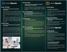 Tri Fold Brochure In Word 12 Free Tri Fold Brochure Templates In Ms Word Format