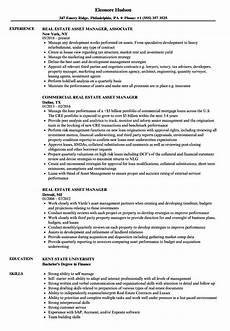 Asst Manager Resume Asset Management Resume Template Qiux