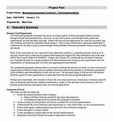Sample Project Outline Free 9 Sample Project Outline Templates In Pdf Ms Word