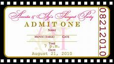 Ticket Layout Template Glow In The Dark Birthday Invitations Drevio Invitations