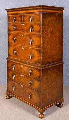 waring gillows boy chest on chest of drawers