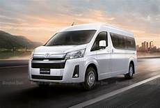 toyota hiace 2019 2019 toyota commuter and hiace thai prices and specs
