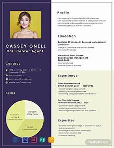 Sample No Free No Experience Call Center Resume Template Word Doc