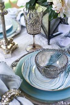 Designer Dishes Seaside Decor Setting A Summer Table With Coastal Dinnerware