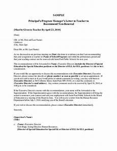 Letter Of Recommendation Teacher Recommendation Letter Sample For Teacher From Parent