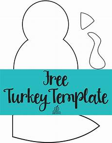 Turkey Printable Template Free Printable Turkey Template Easy Peasy Turkey