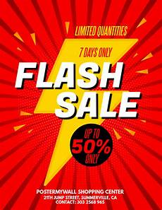 For Sale Flyers Copy Of Flash Sale Flyer Postermywall