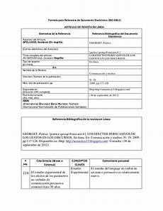 Formatos Para Referencias Laborales Formato Para Referencia De Documento Electr 243 Nico