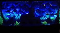Led Black Light For Fish Tank Fish Black Light Uv Amp Led Bubblewand Avatar Youtube
