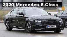 2020 mercedes e class w213 mercedes e class 2020 facelift prototype spied for