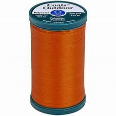 coats outdoor living thread 200yd tangerine s971 7630