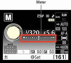 Nikon D80 Light Meter How To Read And Adjust The Exposure Meter On A Nikon D3100